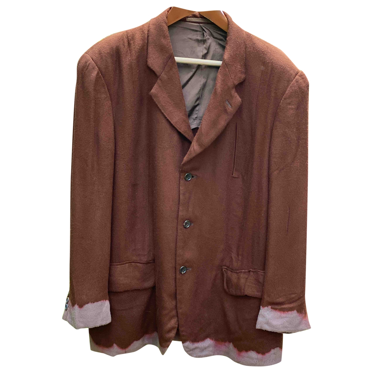 Comme Des Garcons \N Brown Cotton jacket  for Men S International