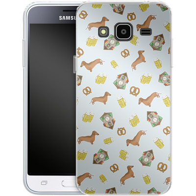 Samsung Galaxy J3 (2016) Silikon Handyhuelle - Germany von caseable Designs