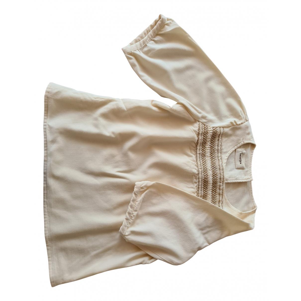 Sessun - Top   pour femme en laine - beige