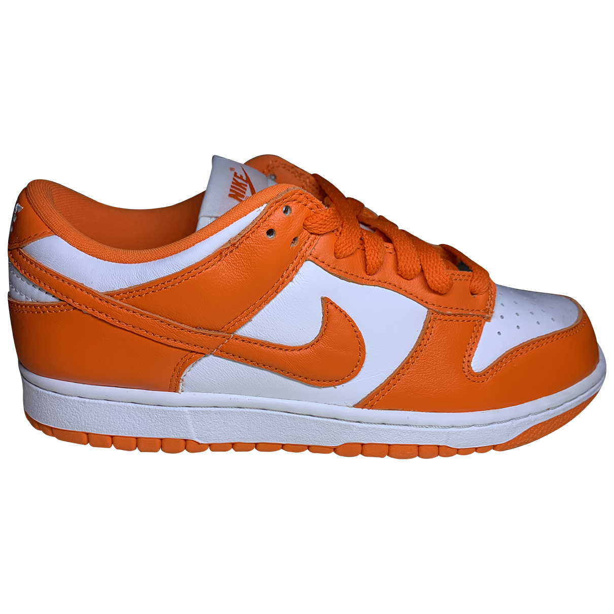 Nike N Orange Trainers for Men 40.5 EU