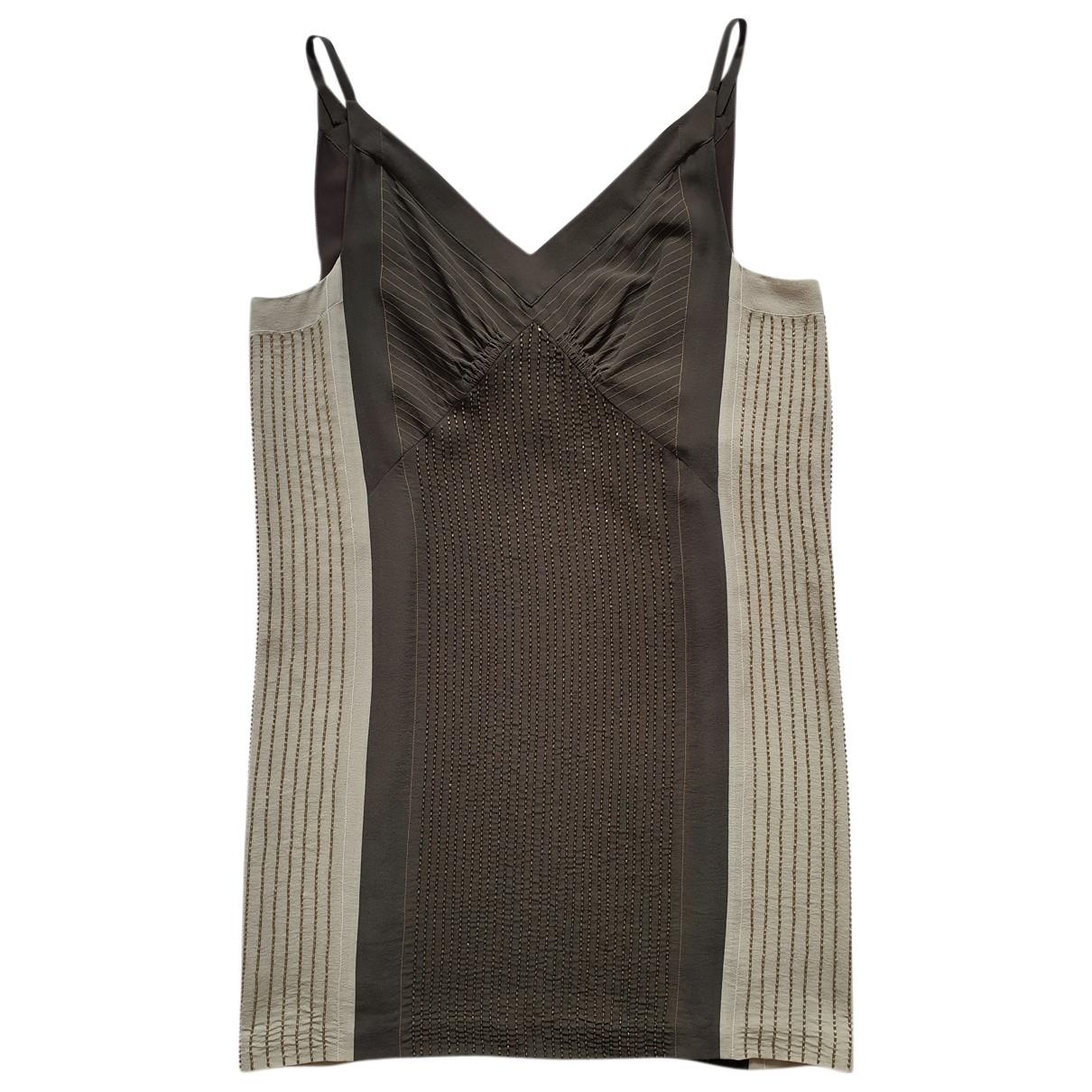 Chloé N Grey Silk dress for Women 40 FR