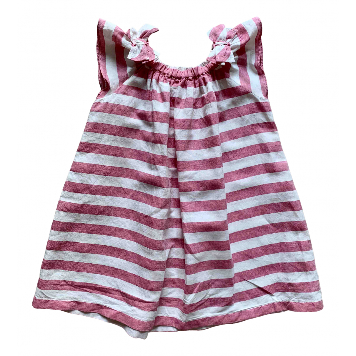 Il Gufo \N Pink Linen dress for Kids 3 years - up to 98cm FR
