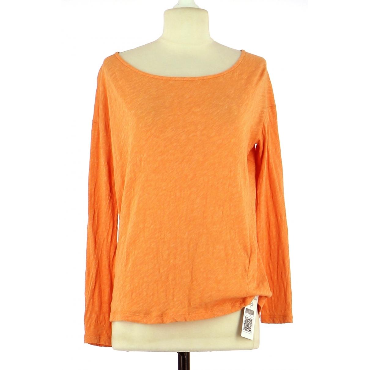 American Vintage \N Top in  Orange Baumwolle