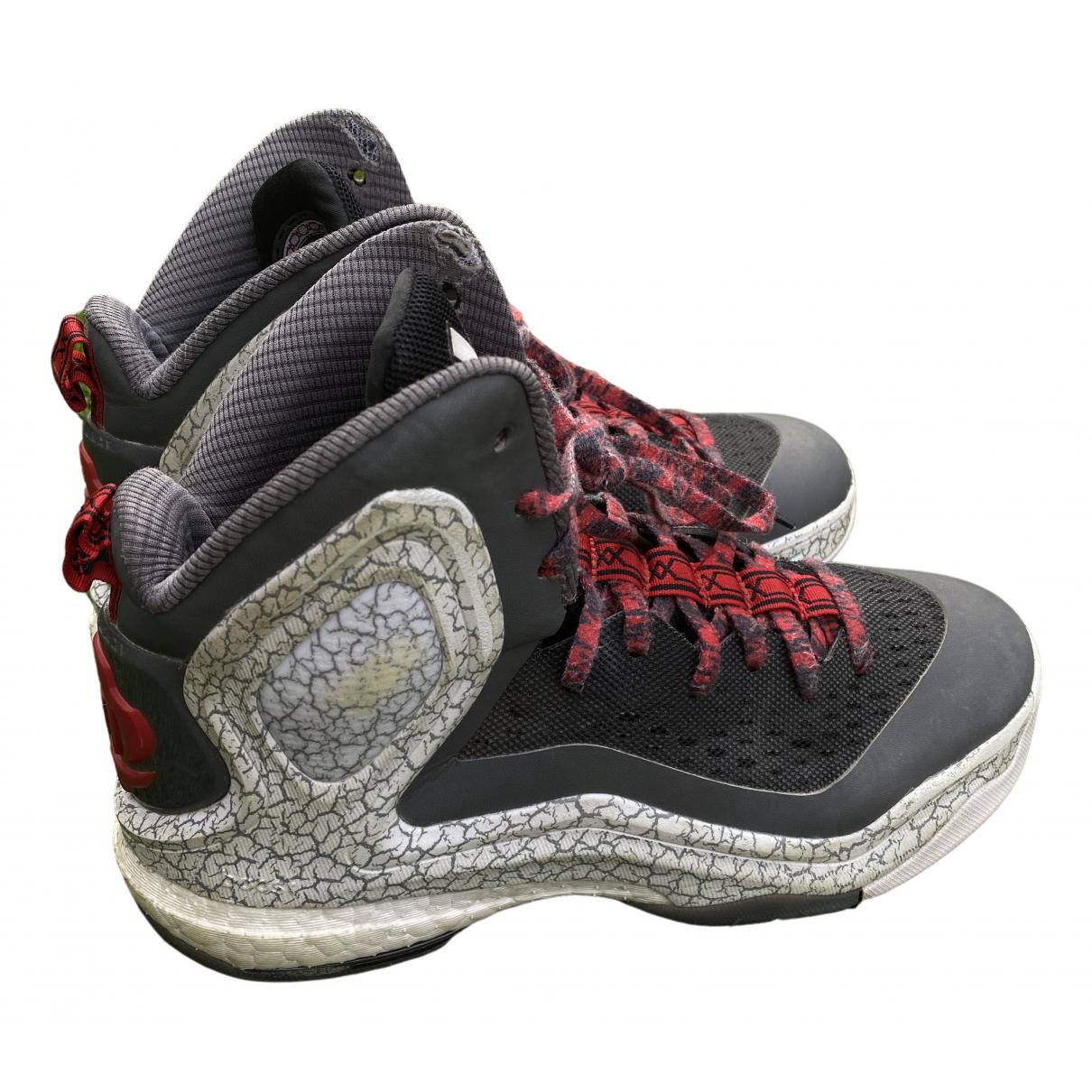 Adidas \N Grey Cloth Trainers for Kids 38 FR