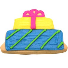Birthday Present Cookies