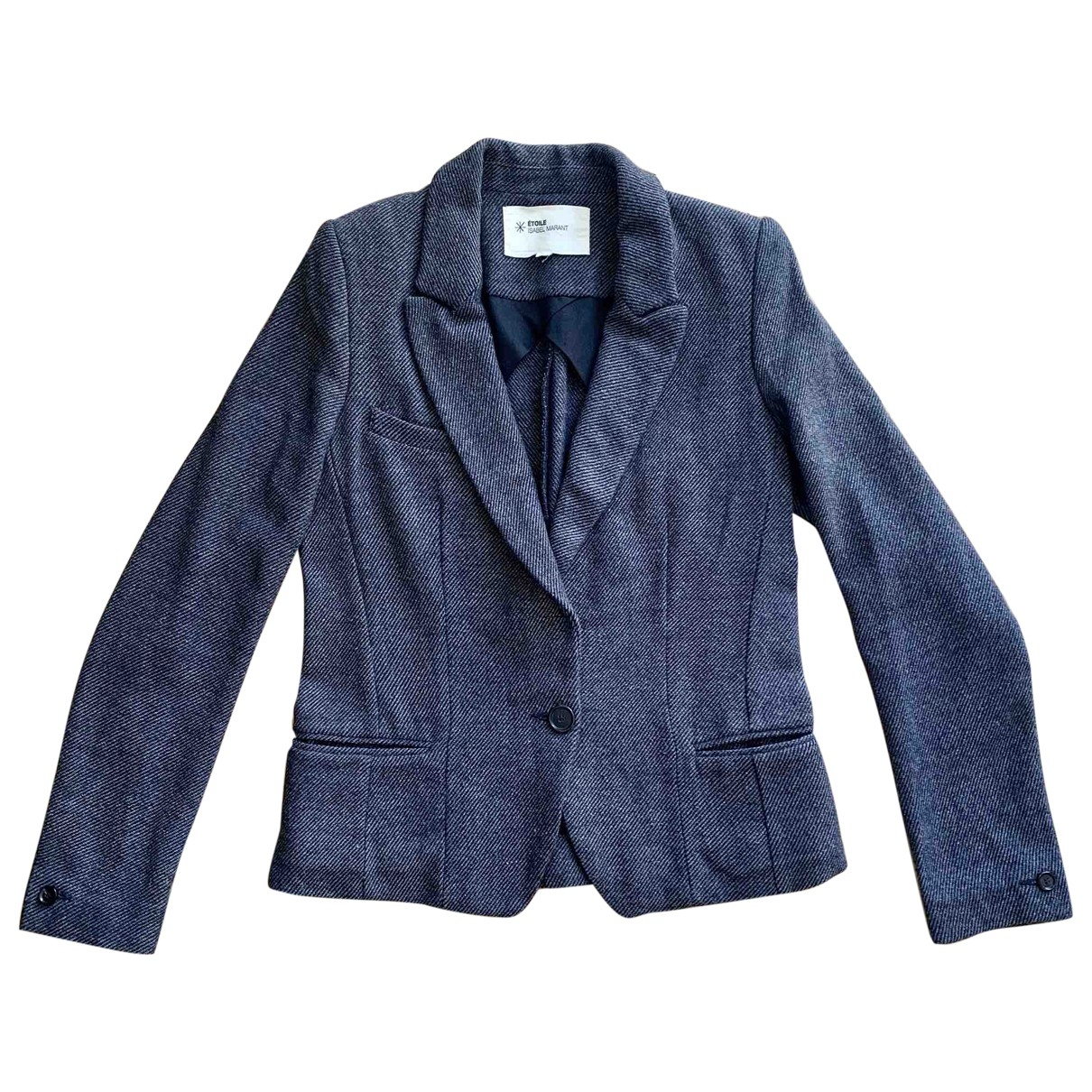 Isabel Marant Etoile \N Anthracite Wool jacket for Women 38 FR
