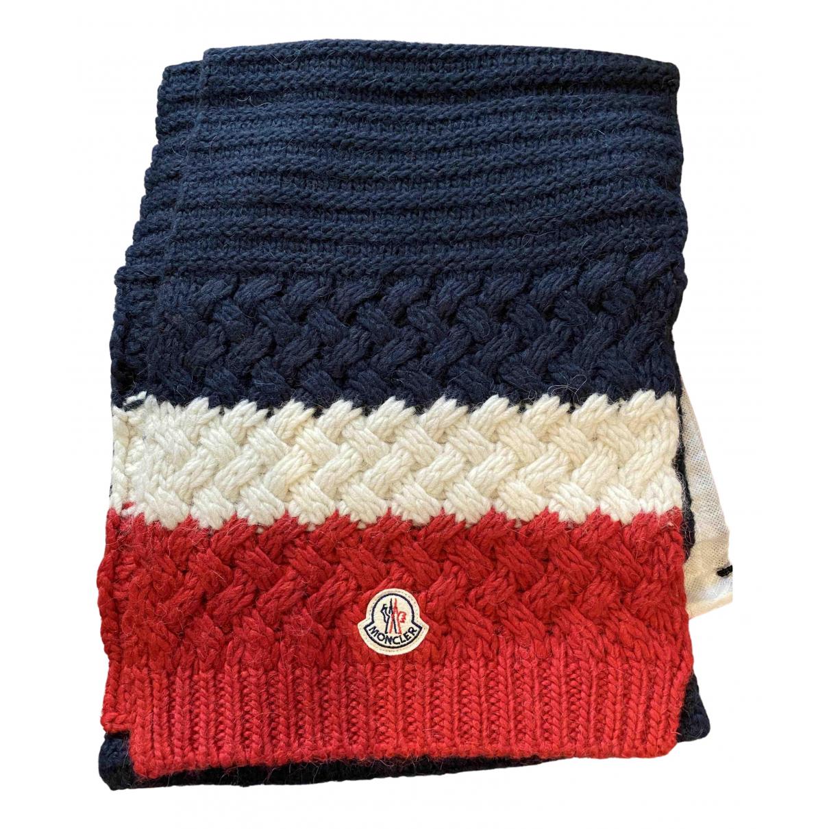 Moncler N Multicolour Wool scarf & pocket squares for Men N