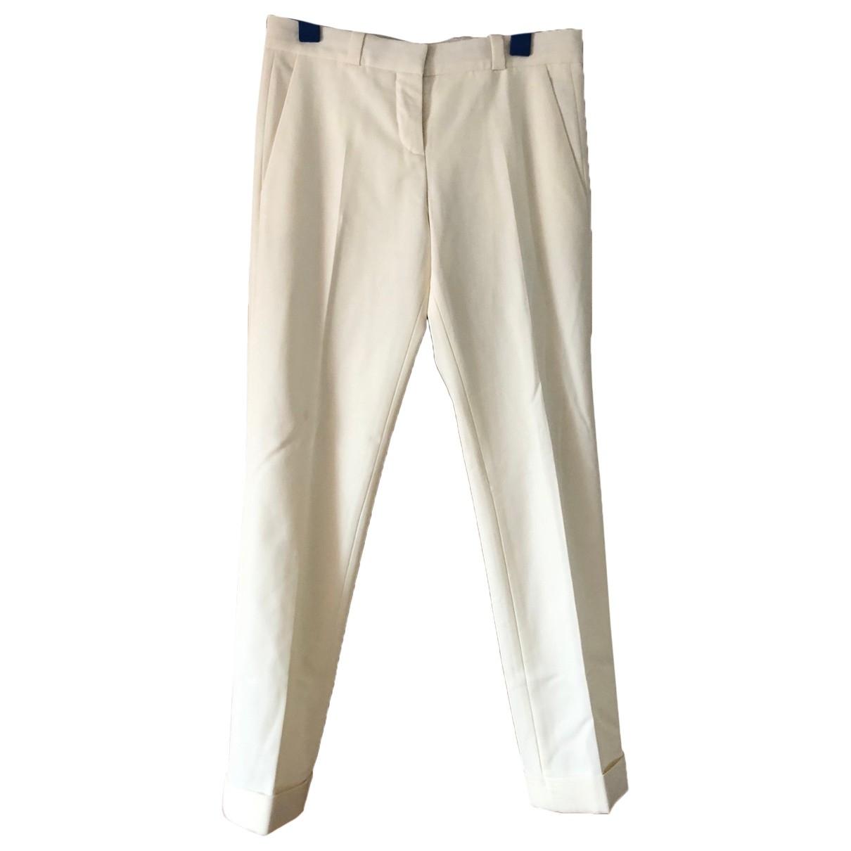 Pantalon recto Maje