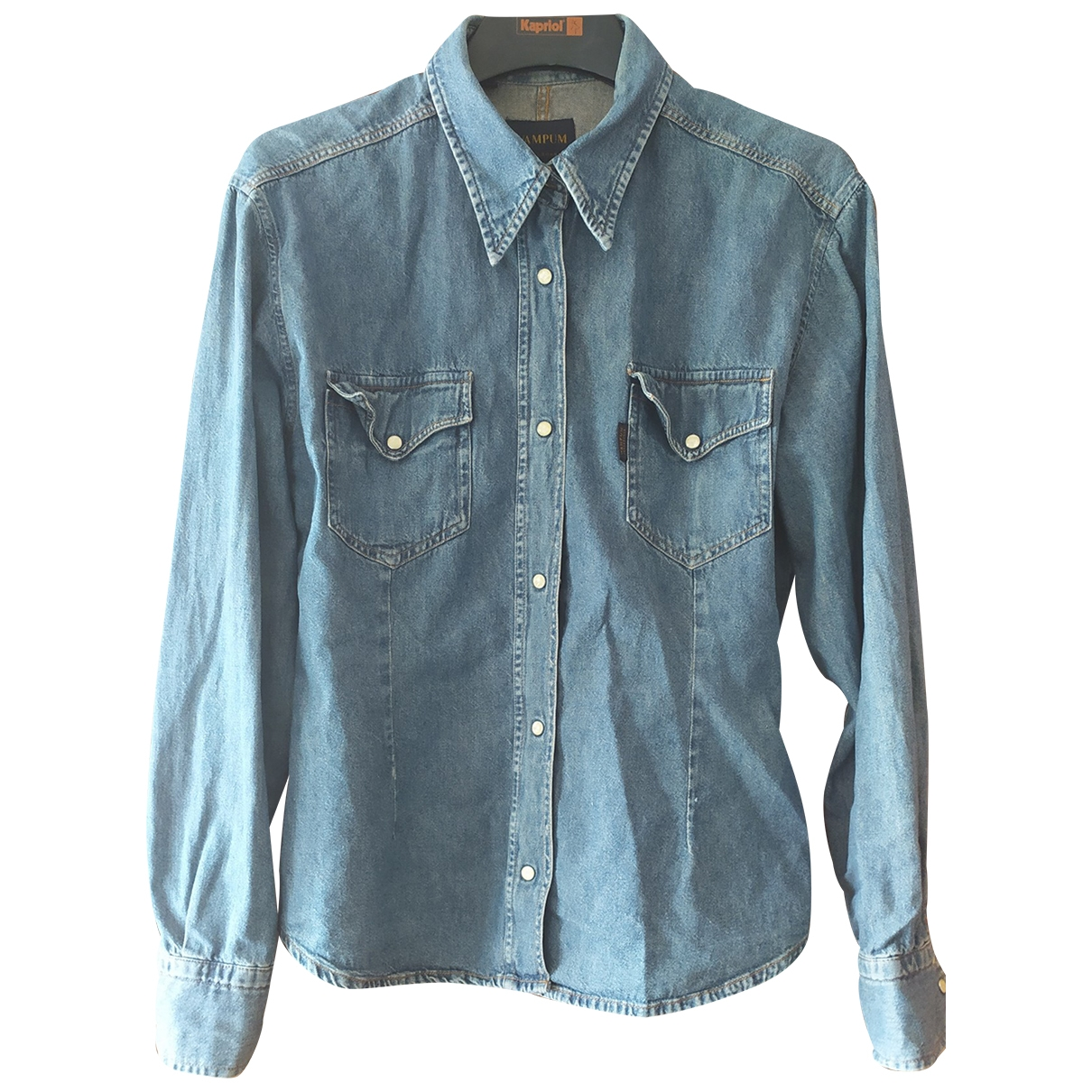 Non Signé / Unsigned \N Blue Denim - Jeans  top for Women L International