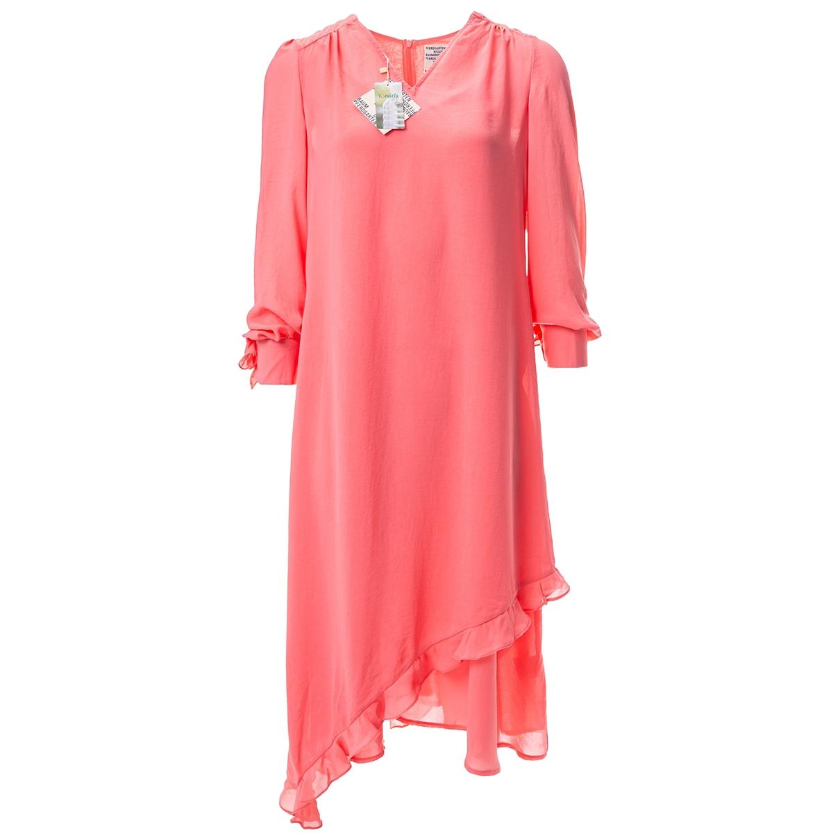 Baum Und Pferdgarten \N Kleid in  Rosa Polyester