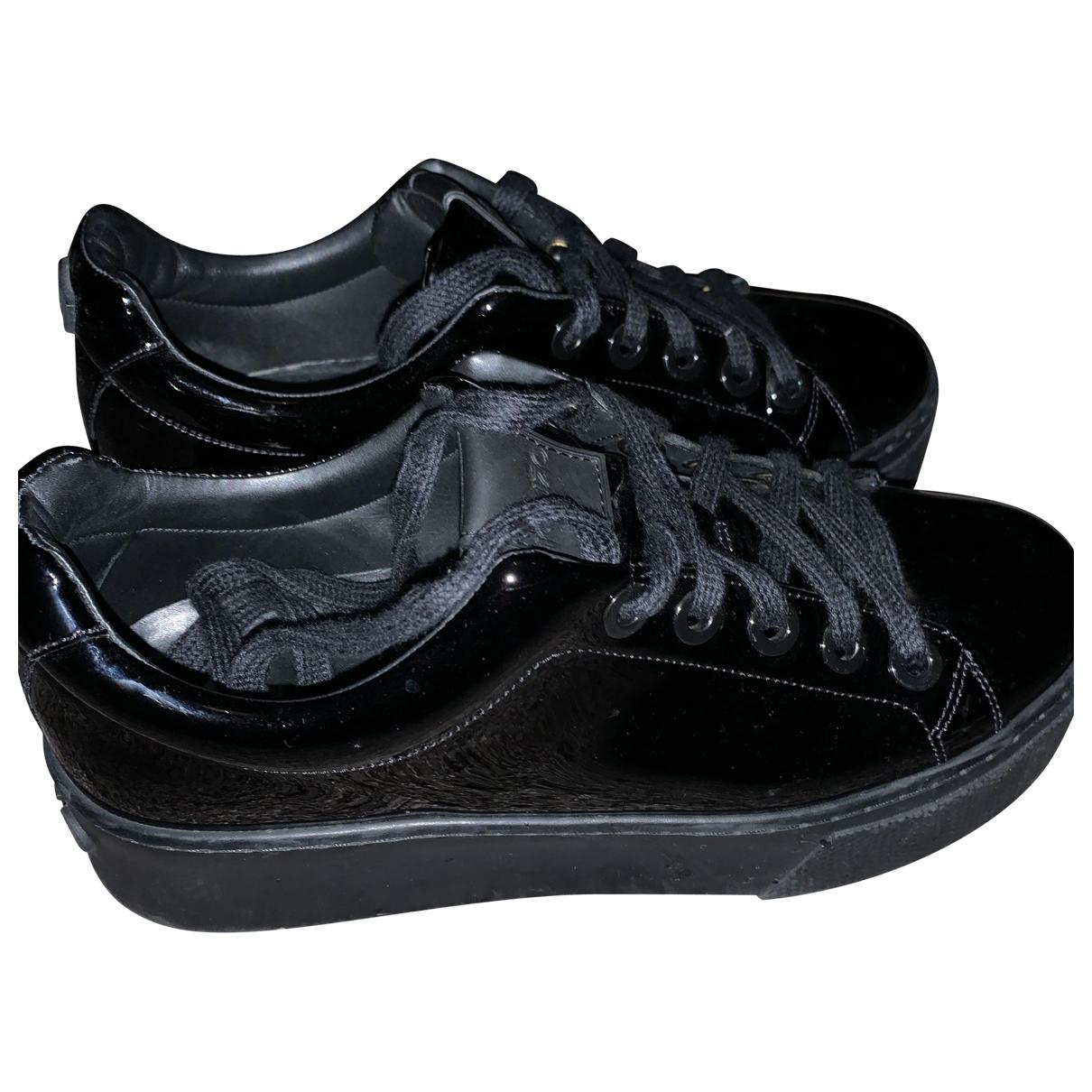 Kenzo \N Sneakers in  Schwarz Lackleder