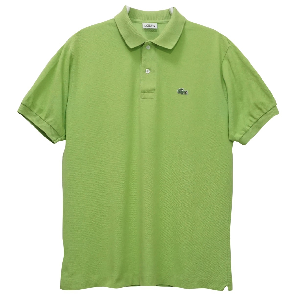 Lacoste \N Green Cotton Polo shirts for Men 4 0 - 6