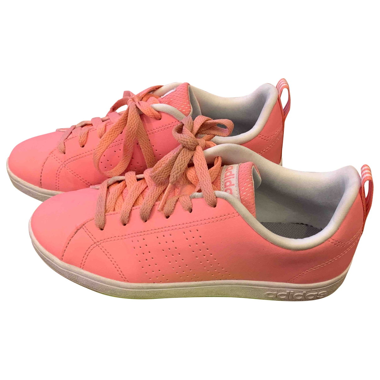 Adidas Stan Smith Sneakers in  Rosa Leder