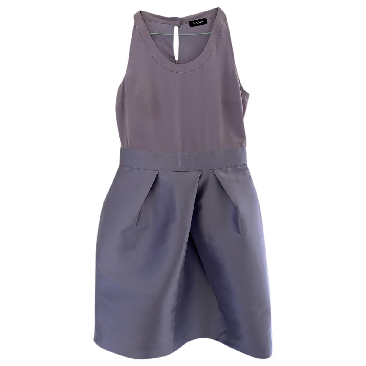 Max & Co \N Kleid in  Lila Seide