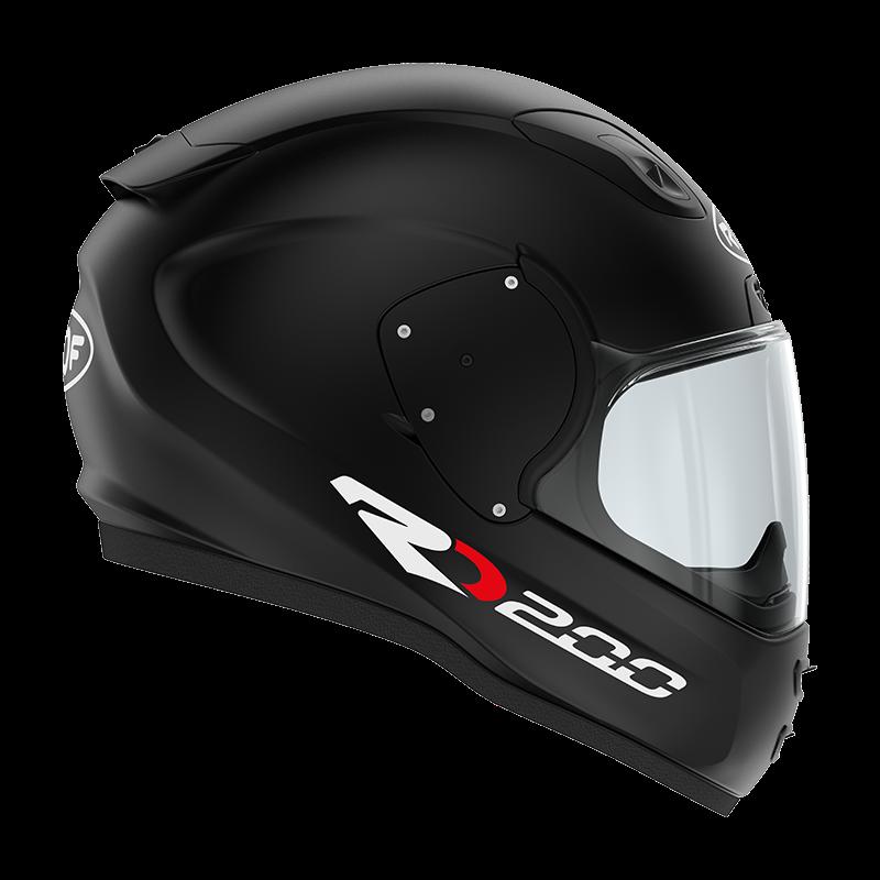 ROOF RO200 Matt Black Full Face Helmet L