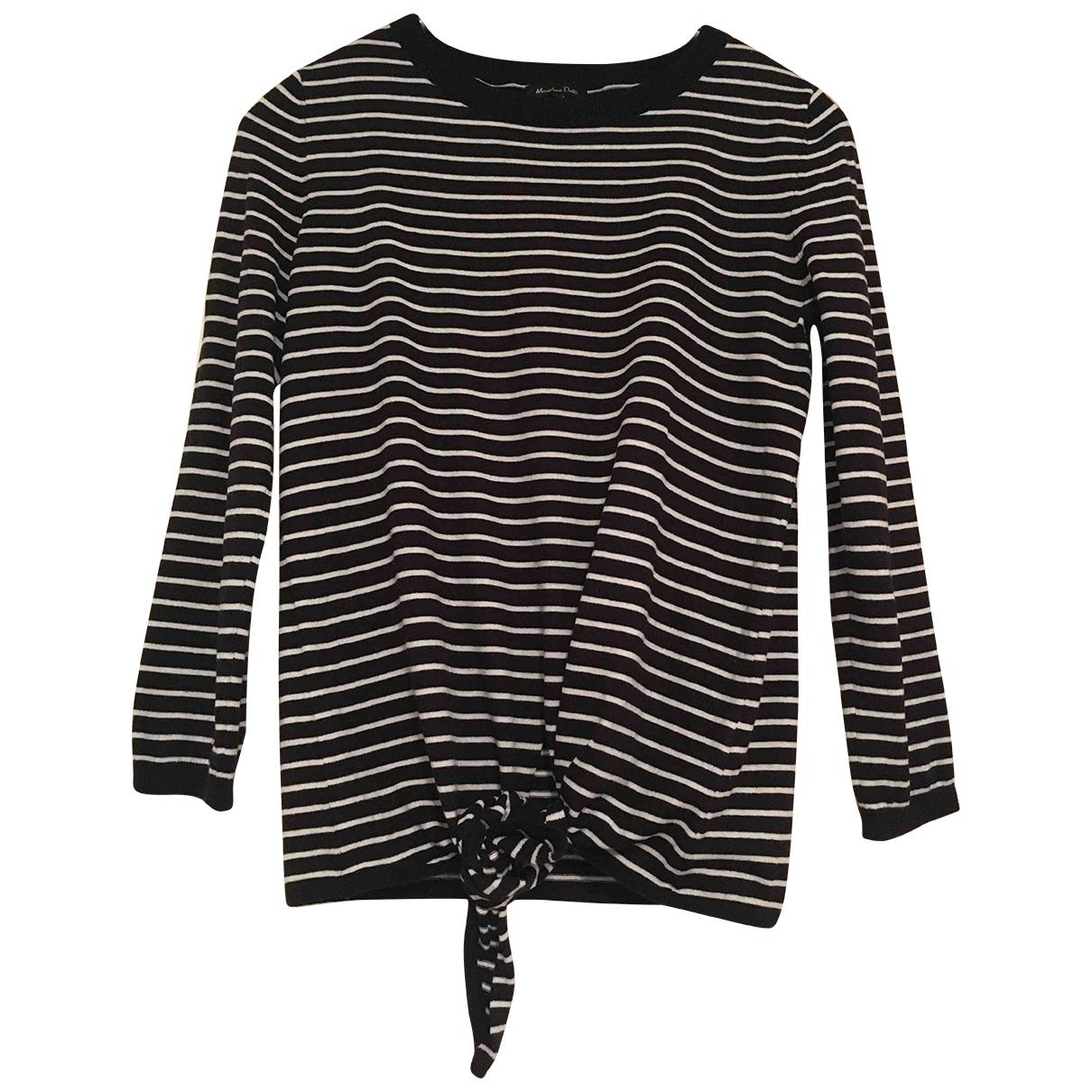 Massimo Dutti N Navy Silk Knitwear for Women S International