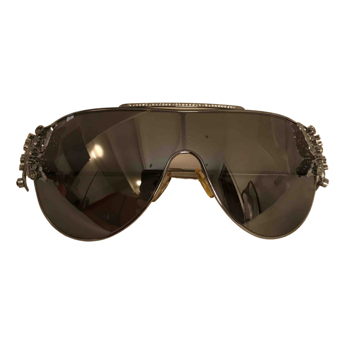 Valentino Garavani \N Silver Metal Sunglasses for Women \N