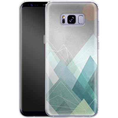 Samsung Galaxy S8 Plus Silikon Handyhuelle - Graphic 107 X von Mareike Bohmer