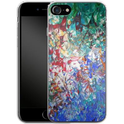 Apple iPhone 7 Silikon Handyhuelle - Macro 10 von Gela Behrmann