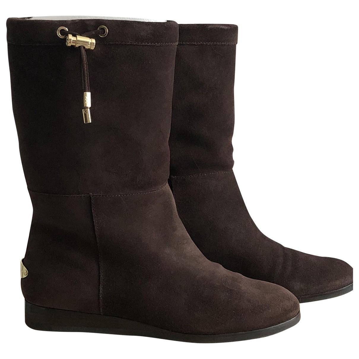 Michael Kors \N Brown Suede Boots for Women 38 EU