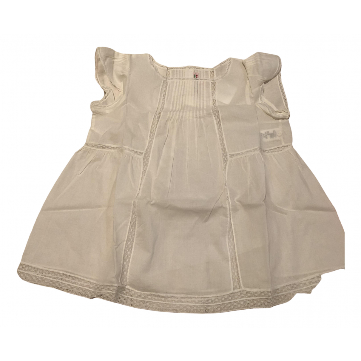 Bonpoint \N White Cotton  top for Kids 6 years - up to 114cm FR