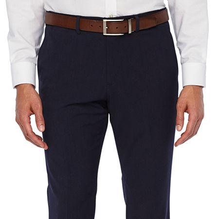 JF J.Ferrar 360 Stretch Slim Fit Suit Pants, 34 34, Blue