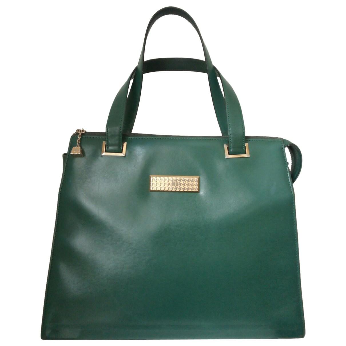 Dior - Sac a main   pour femme en cuir - vert