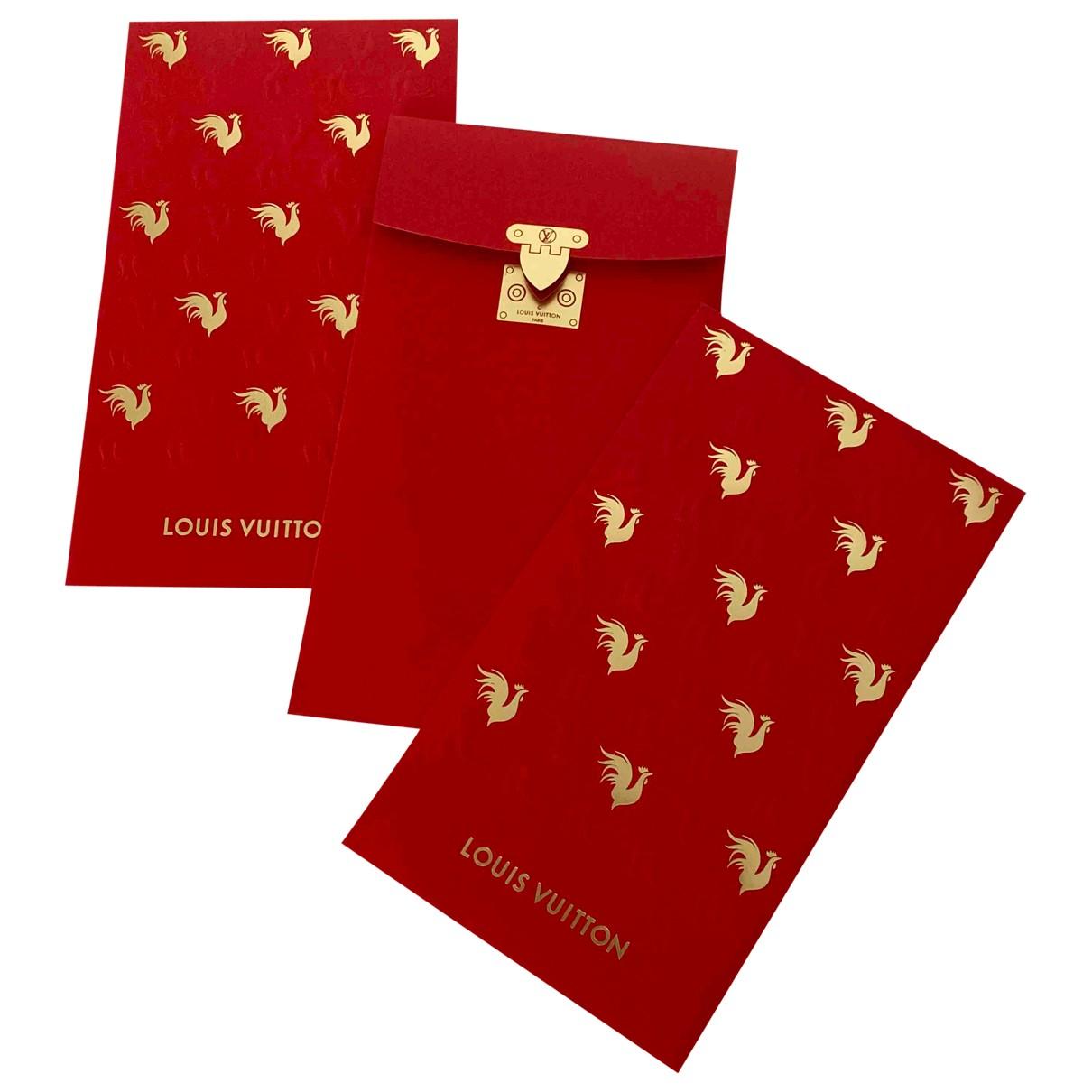 Louis Vuitton - Art   pour lifestyle en autre - rouge