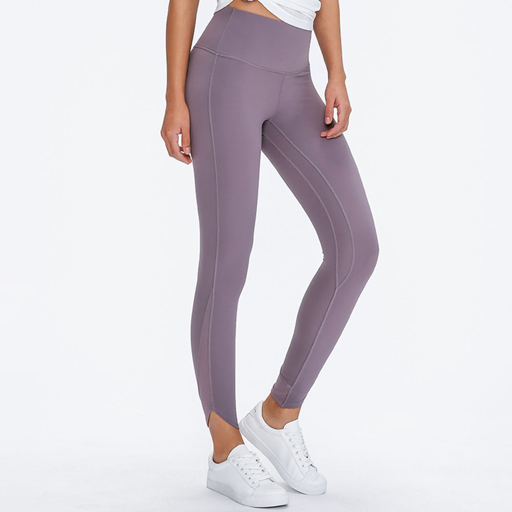 High Waist Yoga Pants with Pockets, Tummy Control Workout Running Yoga Leggings for Women