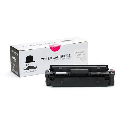 Compatible HP Color LaserJet Pro MFP M477FDW Magenta Toner Cartridge High Yield - Moustache