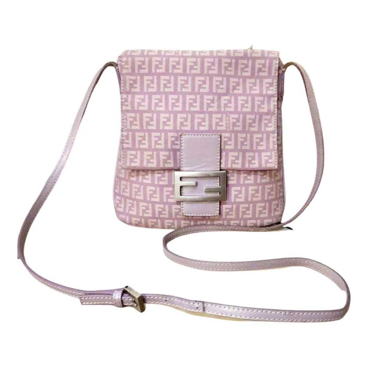Fendi \N Purple Cloth handbag for Women \N