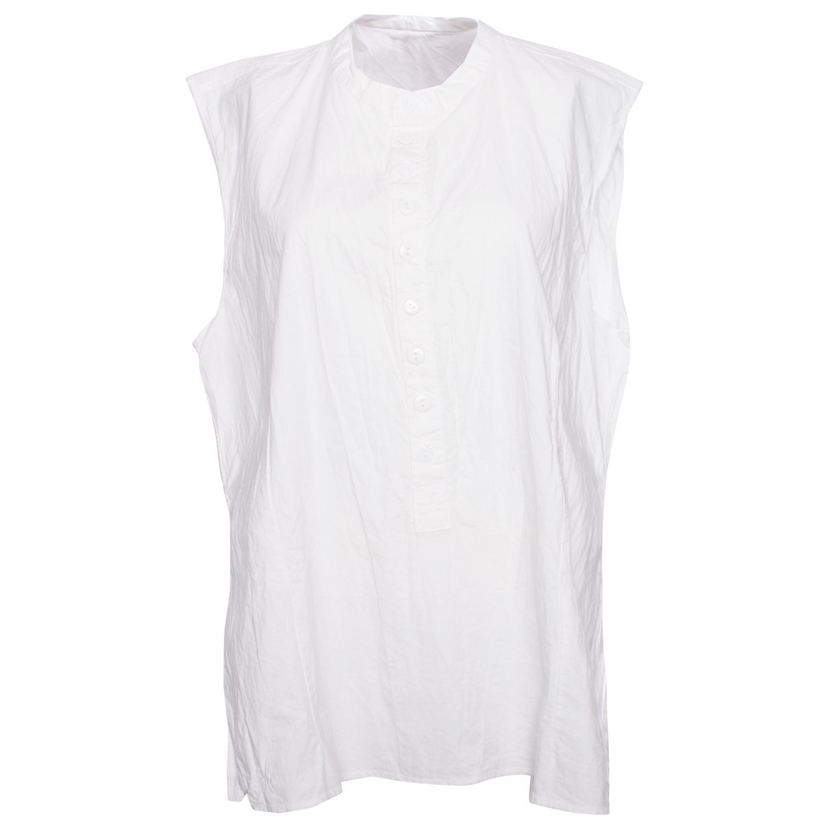 - Top   pour femme en coton - blanc