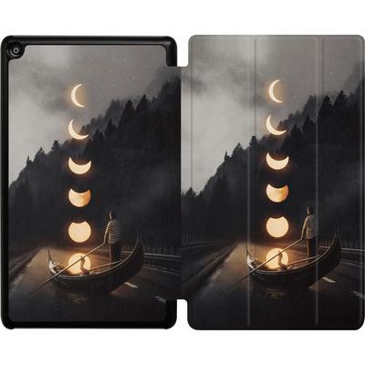 Amazon Fire HD 8 (2018) Tablet Smart Case - Moon Ride von Enkel Dika