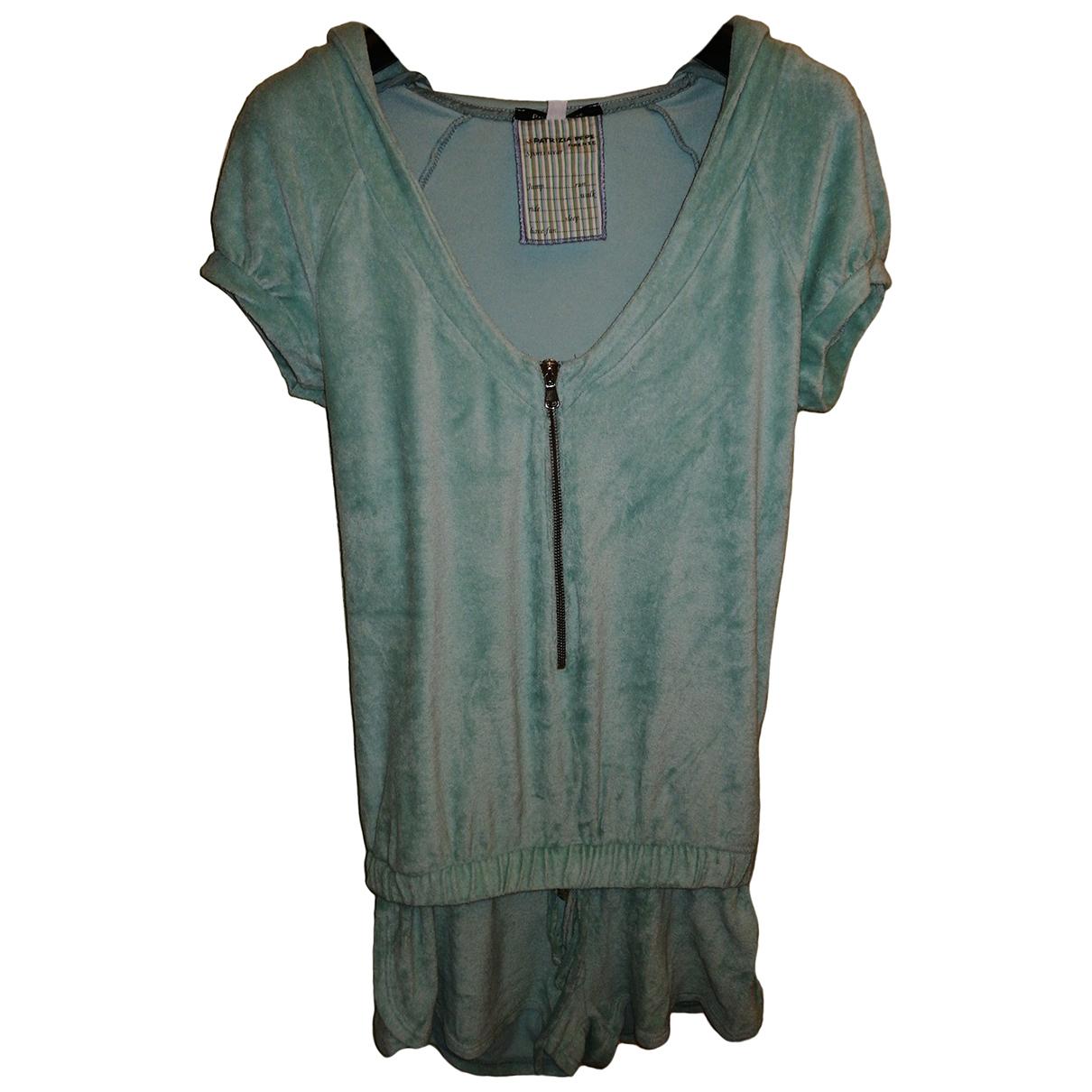 Patrizia Pepe - Robe   pour femme en coton - turquoise