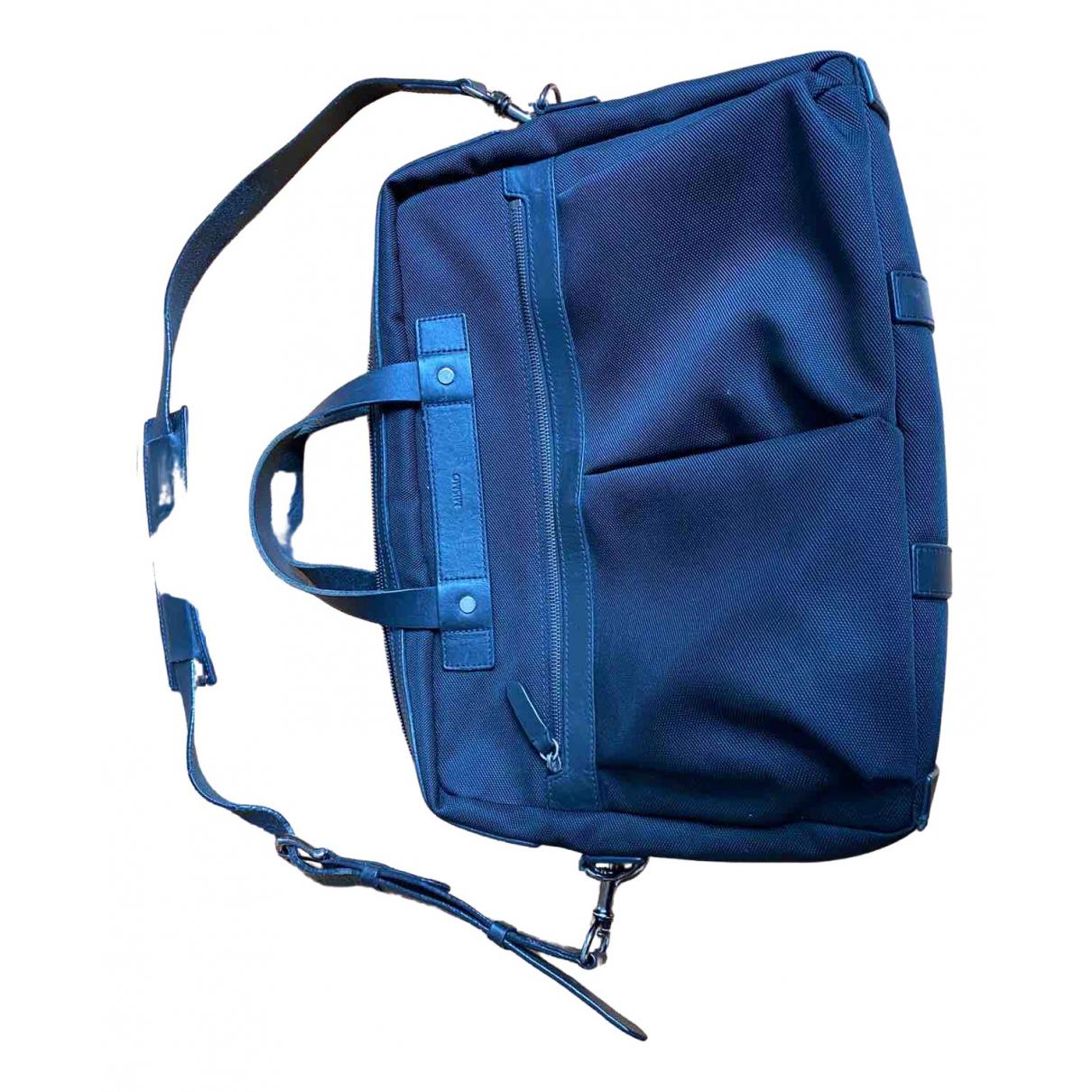 Mismo \N Black Leather bag for Men \N