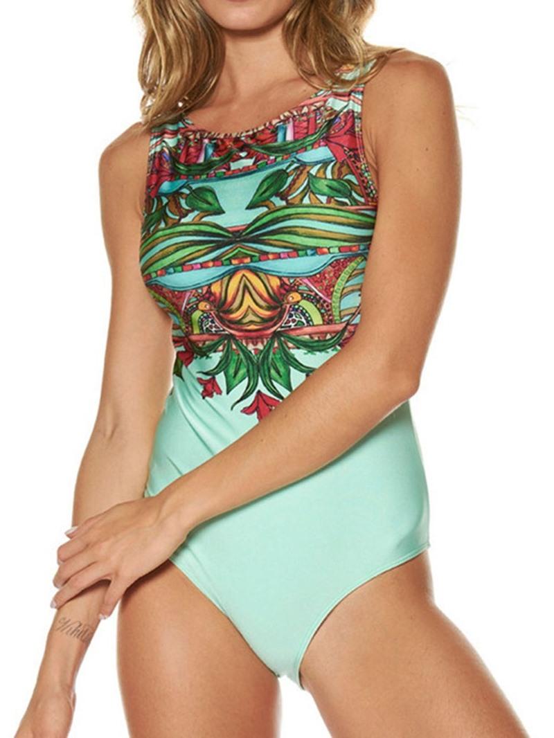 Ericdress Floral Skimpy Print Swimwear