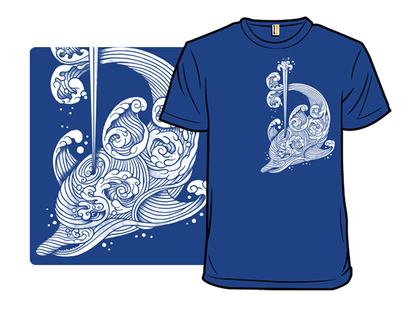 The Dolphin Wave T Shirt