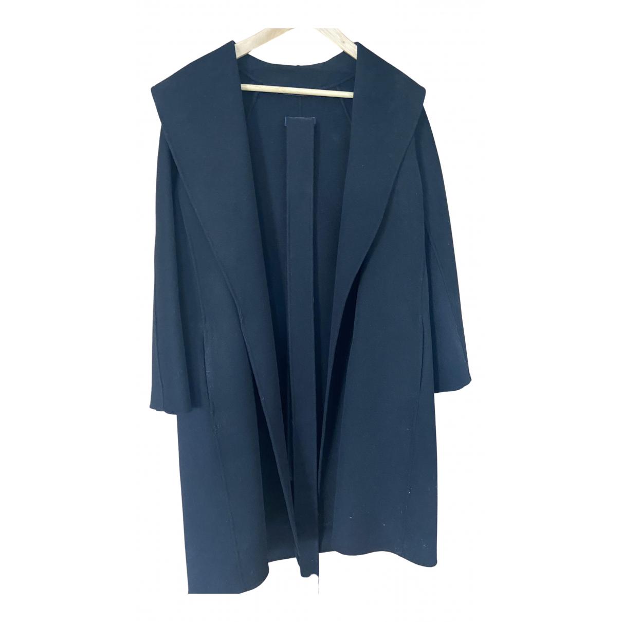 Max Mara 's N Black Wool coat for Women 10 UK