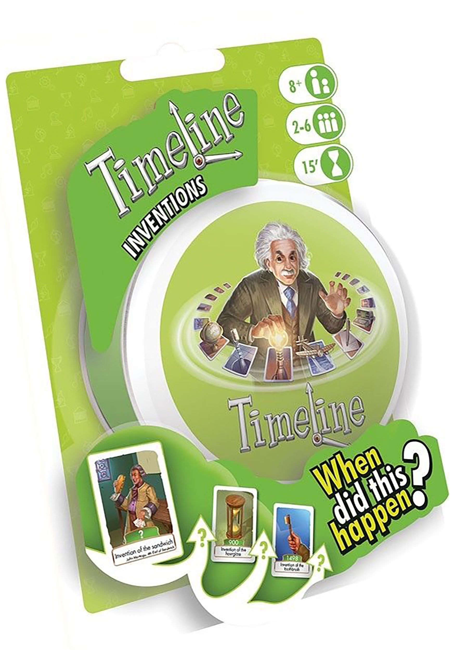 Timeline Inventions: Family Card Game