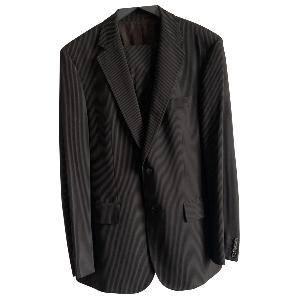 Boss - Costumes   pour homme en laine - noir