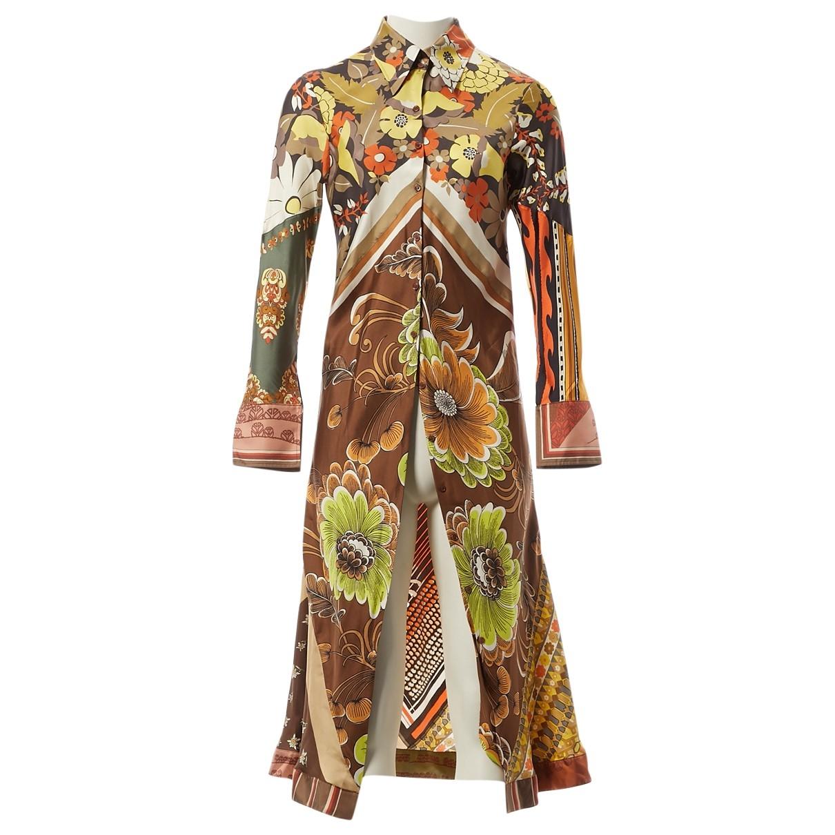 Chloé \N Multicolour Silk  top for Women 40 FR