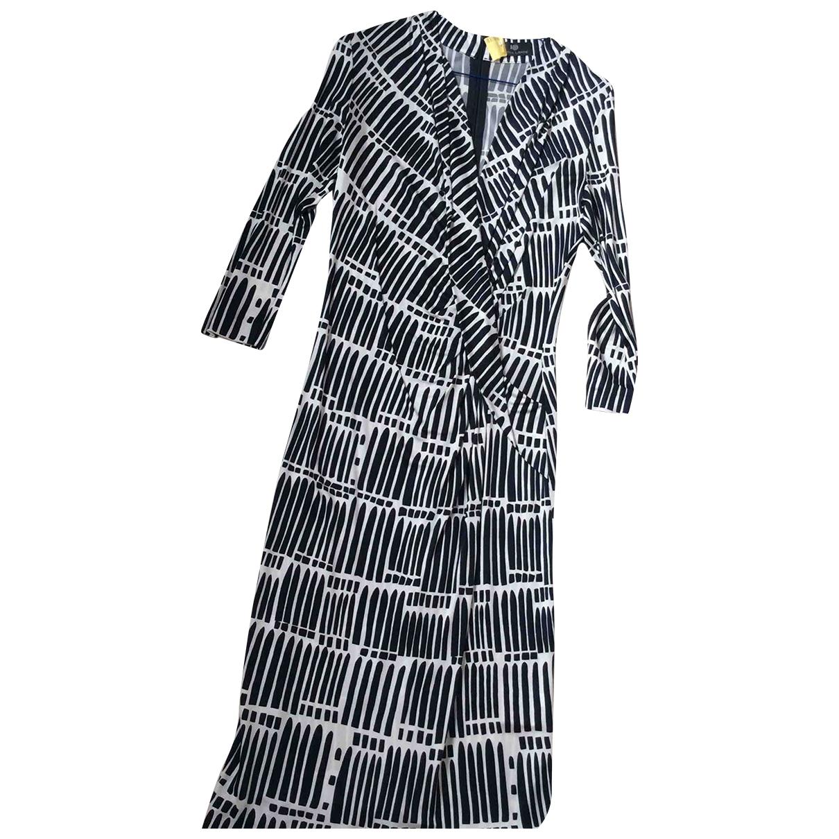 Rena Lange \N Kleid in  Blau Viskose
