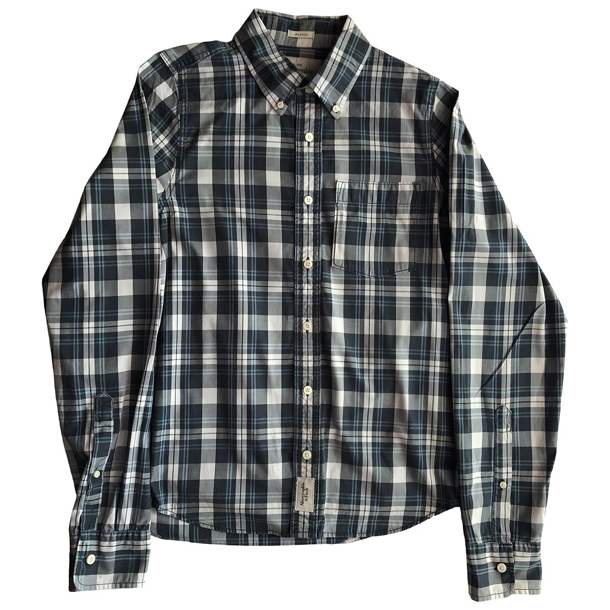 Abercrombie & Fitch - Chemises   pour homme en coton - multicolore