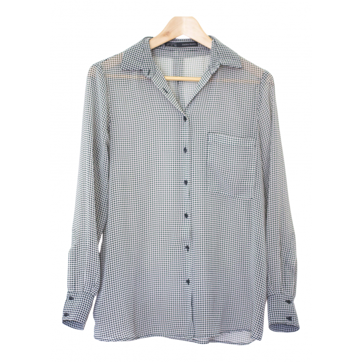 Zara - Top   pour femme - gris