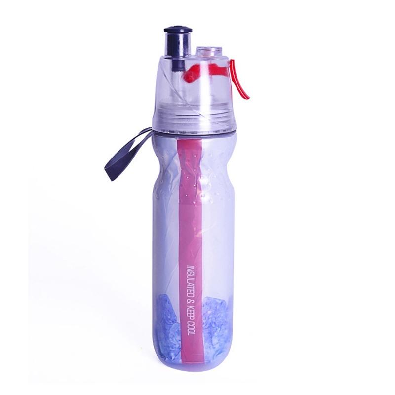 Ericdress Sport Mist Spray 500ML Outdoor Cycling Water Cup
