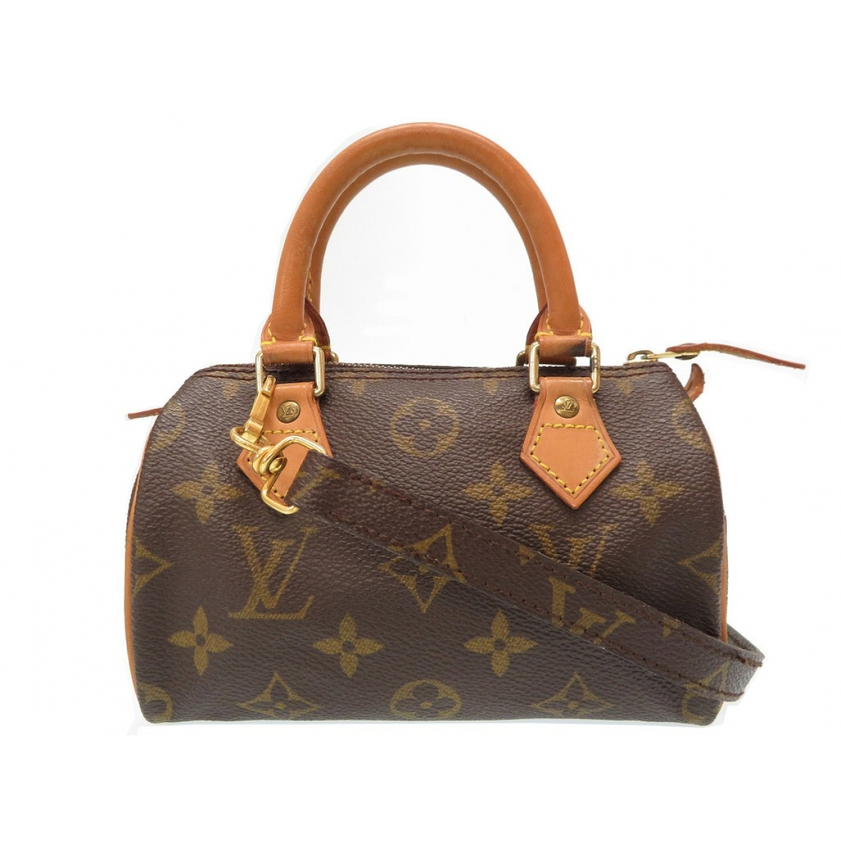 Louis Vuitton Speedy Bandoulière Brown Cloth handbag for Women \N