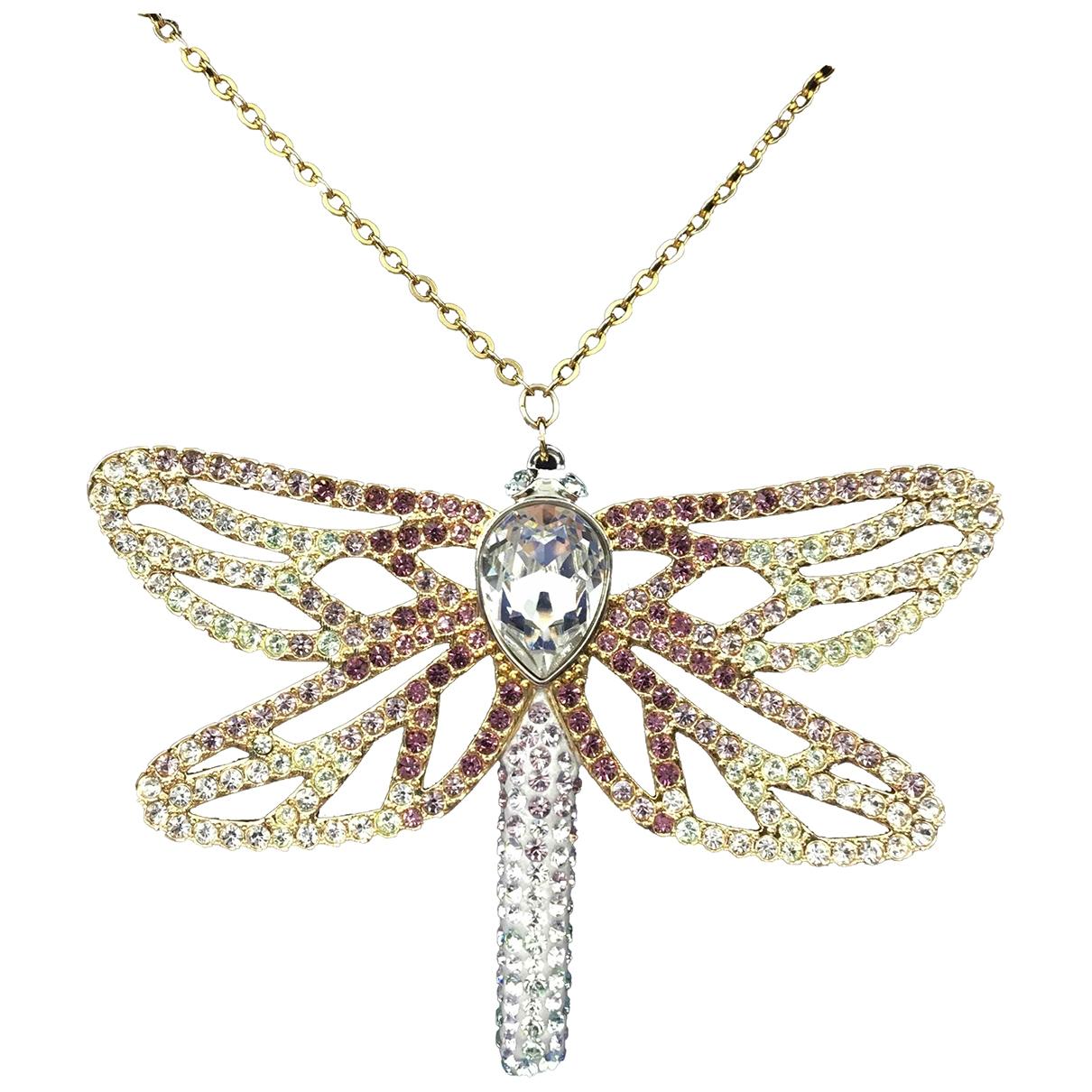 Swarovski \N Halskette in  Bunt Kristall