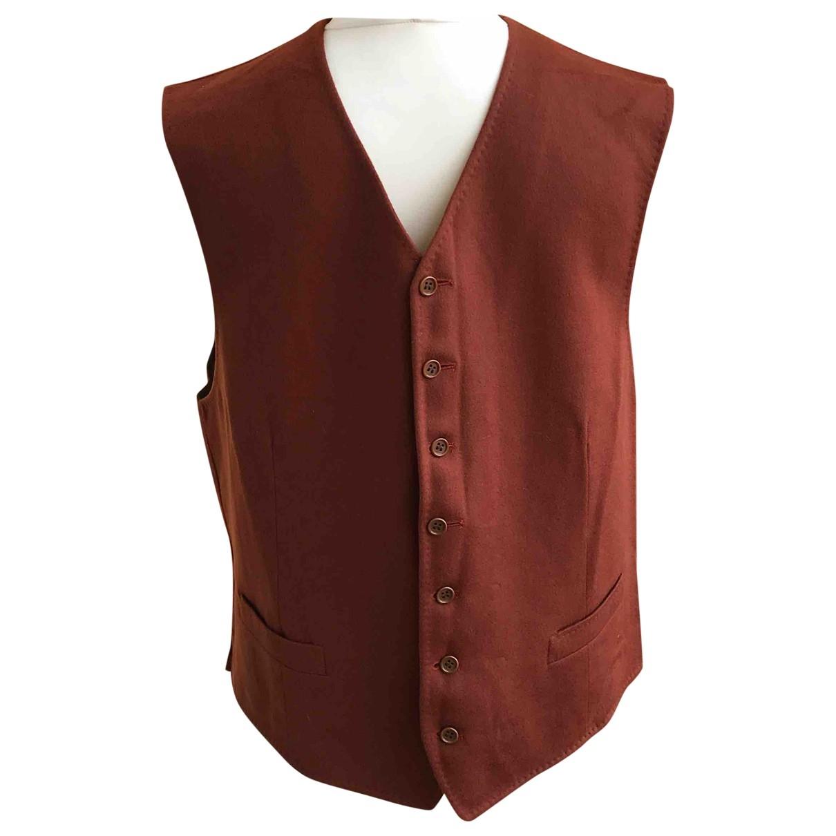 Lanvin \N Orange Wool jacket  for Men 52 IT