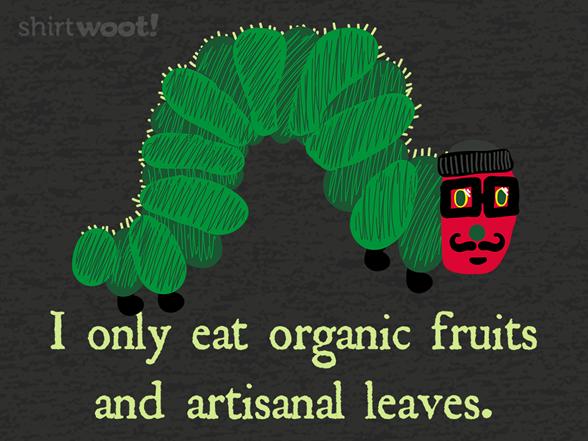 The Very Hipster Caterpillar T Shirt