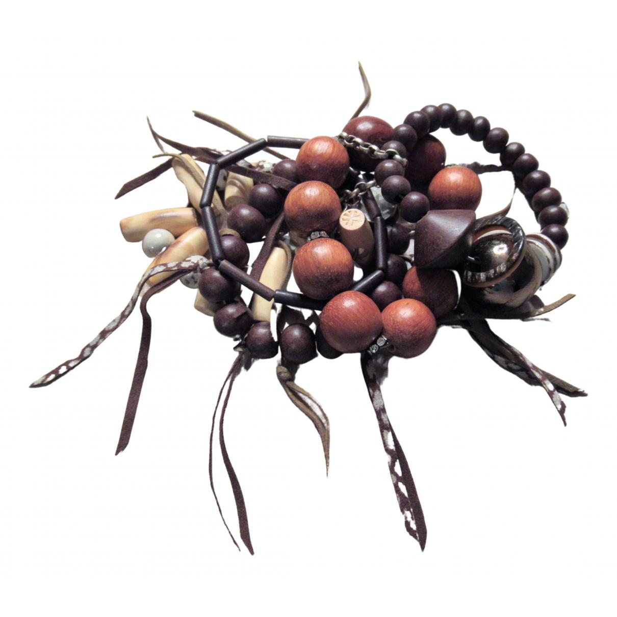 Reminiscence - Bracelet   pour femme en bois - marron